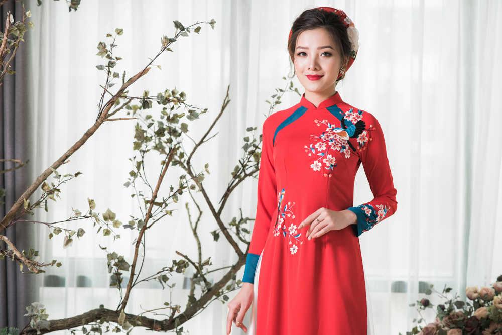 May áo dài Đà Nẵng