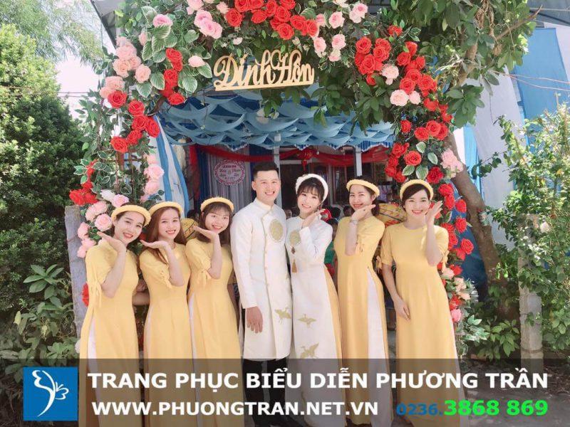 thuê áo dài cưới đà nẵng