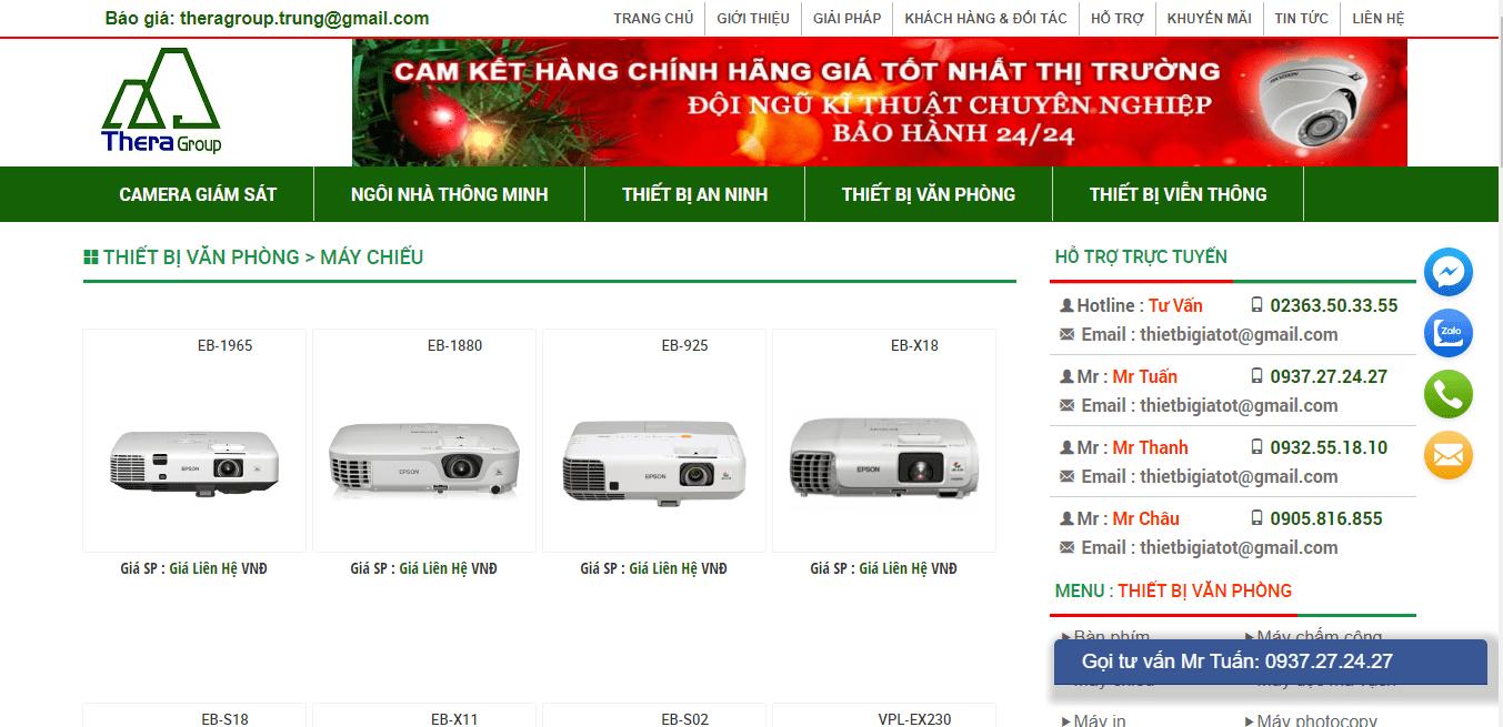 lắp đặt máy chiếu Đà Nẵng