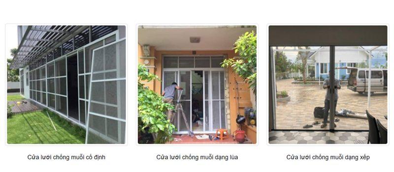 cửa lưới chống muỗi tại Đà Nẵng