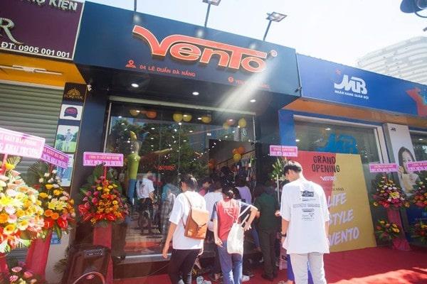 Cửa hàng sandal vento chính hãng TP.HCM