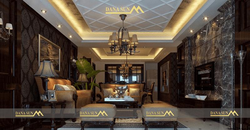 thiết kế nội thất nhà biệt thự hiện đại