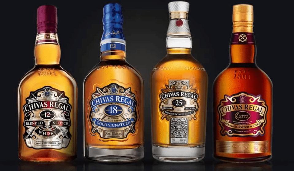 thương hiệu rượu Whisky nổi tiếng nhất