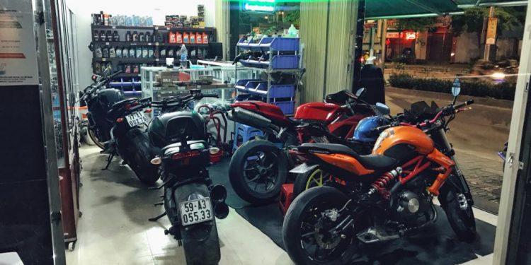 Phụ tùng xe máy Lê Khang