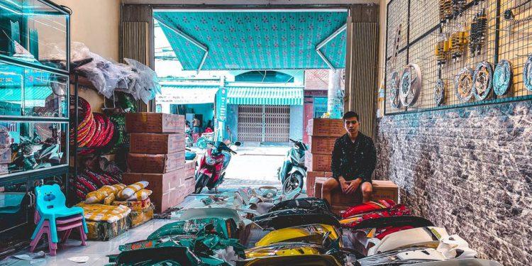 Đồ chơi xe máy đà nẵng - HCT