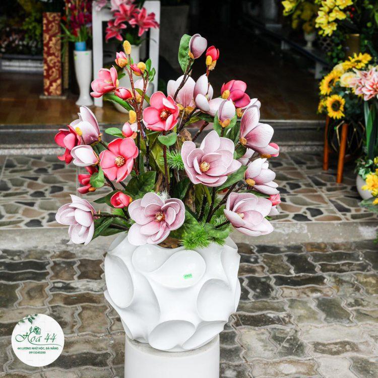 Thi Công Hoa Giả Tại Đà Nẵng.