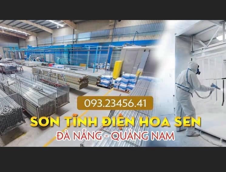 sơn tĩnh điện Đà Nẵng