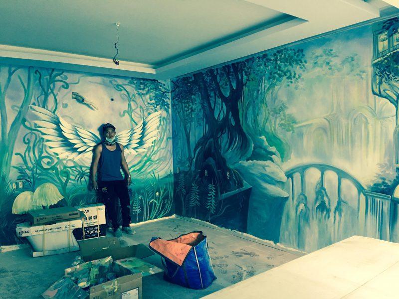vẽ tranh tường tại Đà Nẵng