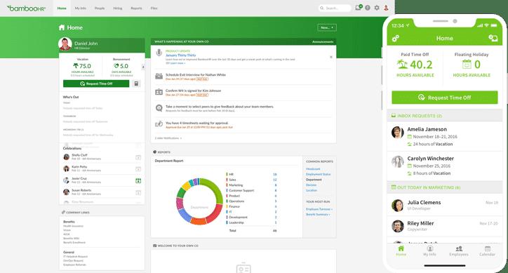 Phần mềm quản lý Bamboo