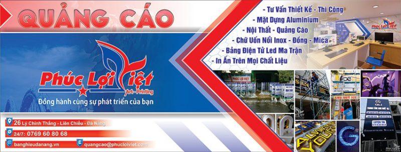 Công ty quảng cáo Phúc Lợi Việt