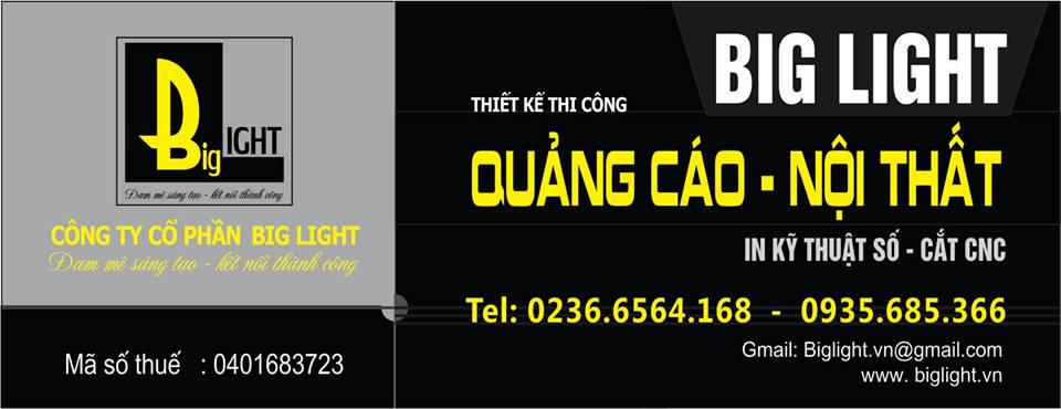 Công Ty BIGLIGHT - In Bạt Quảng Cáo Đà Nẵng Giá Rẻ Tại Đà Nẵng